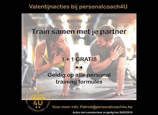 Valentijnsactie 2019 Personal Coach 4U
